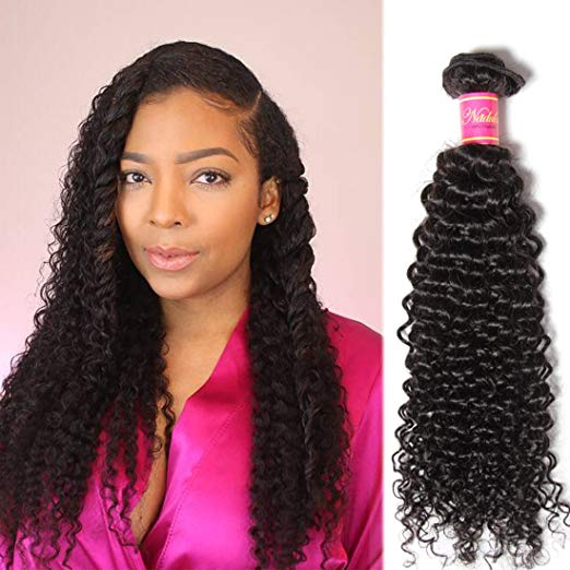 Long Hair Extensions - Unprocessed Virgin Remy Malaysian Curly Hair (1 Bundle)