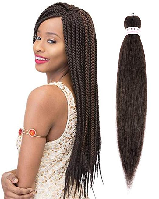 EZ Braid Pre Stretched Itch-Free Braiding Hair