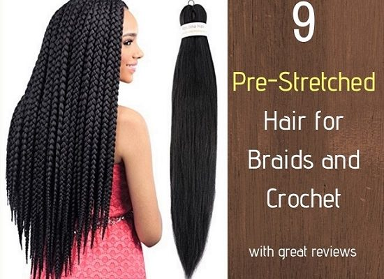 9 Pre-Stretched Prepped Hair for Braids and Crochet - Izey Hair in Las Vegas Nevada.