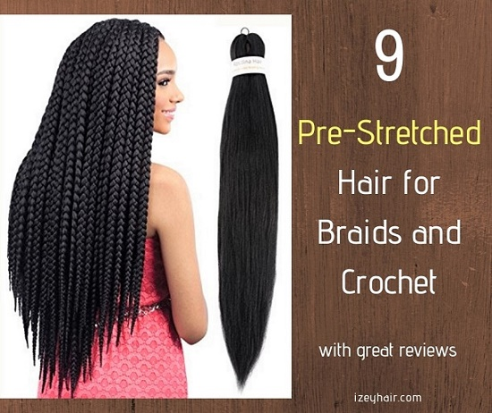 9 Pre Stretched Feathered Prepped Hair For Braiding And Crochet