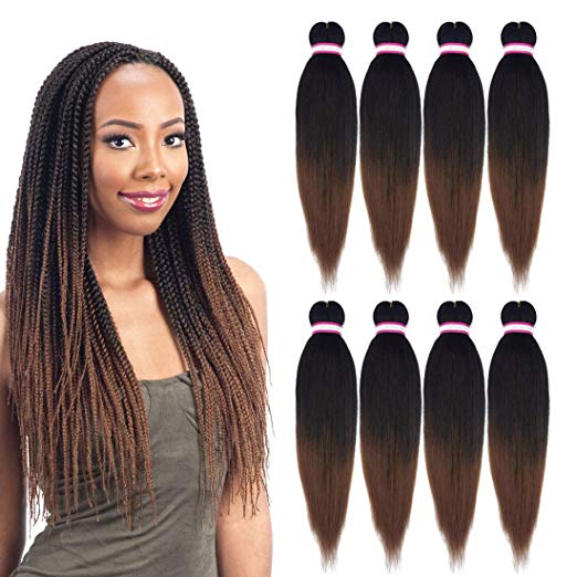 EZ Braid Pre-Stretched Yaki Itch-Free Braiding Hair
