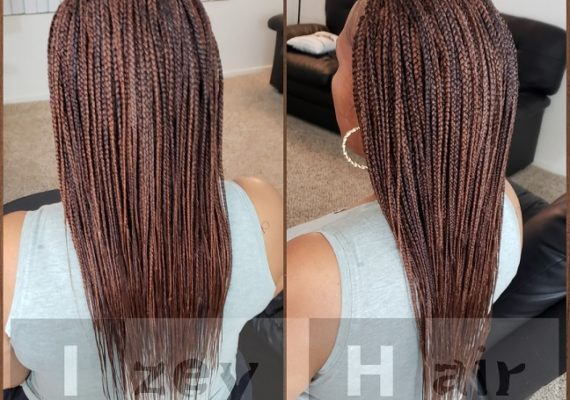 Long Individuals (Box Braids). Color 30 and 33 - Izey Hair - Las Vegas, NV