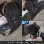 Small Senegalese Twist (Braids for kids) - Izey Hair - Las Vegas, Nevada