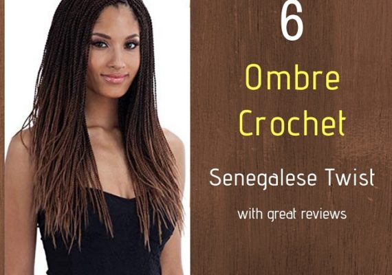 Ombre Crochet Senegalese Twist on Amazon