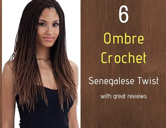Ombre Crochet Senegalese Twist on Amazon