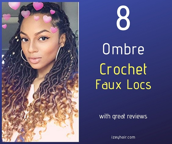 8 Crochet Ombre Goddess Faux Locs With Great Reviews Plus How To