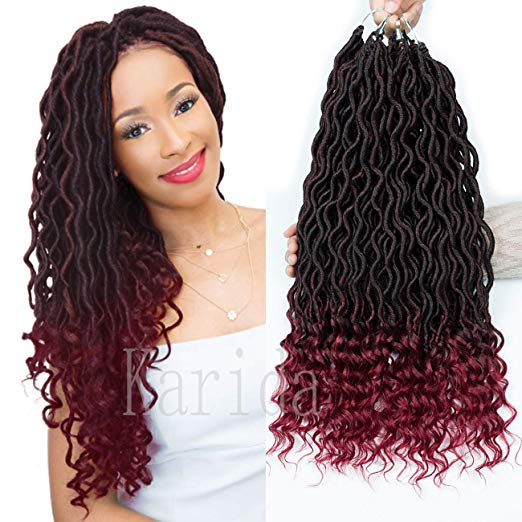 8 Crochet Ombre Goddess Faux Locs With Great Reviews Plus