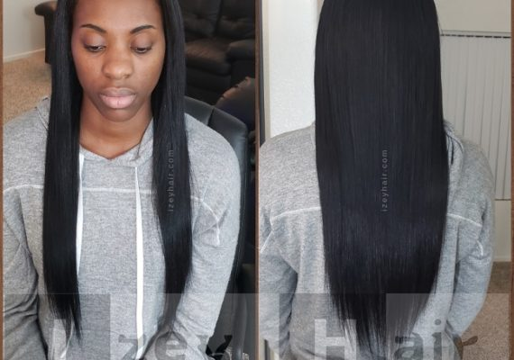Sew-In Weave with Human Hair - Izey Hair - Las Vegas, NV