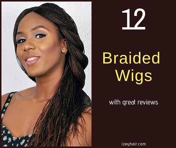 12 Braided Wigs with Good Reviews on Amazon