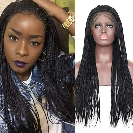 Braided Wig - 18 and 24 inches Box Braids