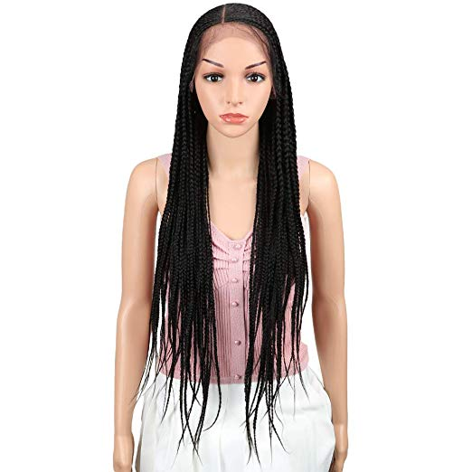 Braided Wig - Lace Front Wig - Feeding Braids - Cornrows