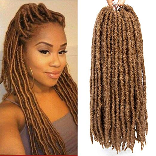 Blond Faux Locs