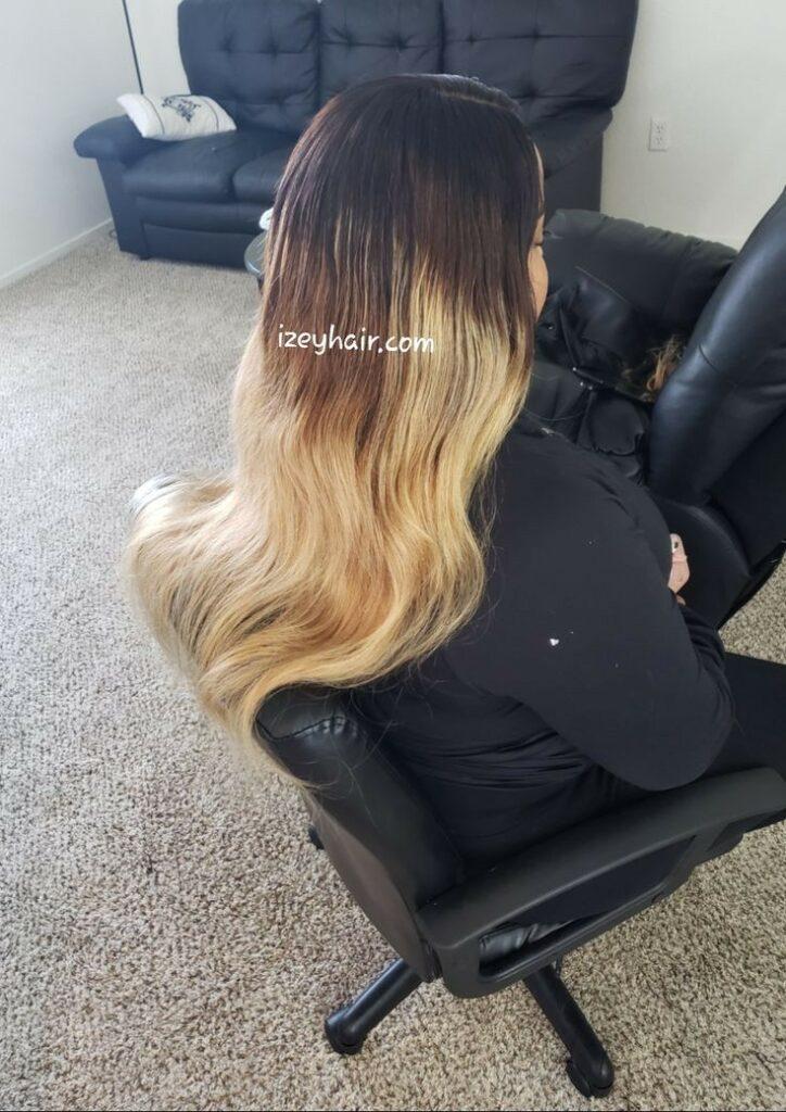 Ombre Brazilian Hair Weave