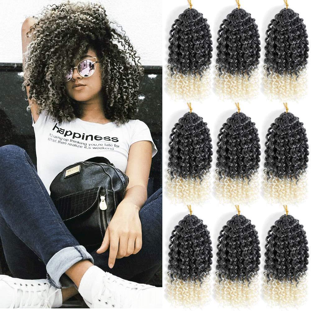 Ombre Crochet Curls Color 613