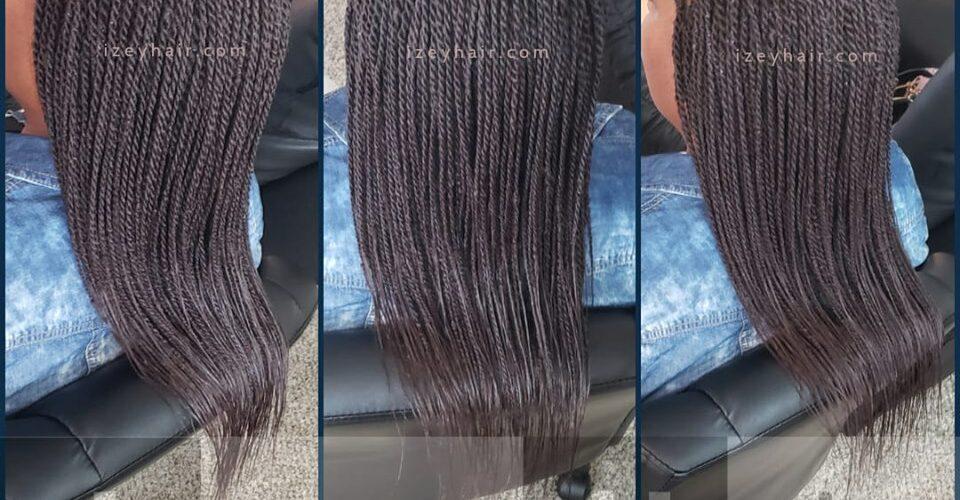 Senegalese Twists Braids Color 33