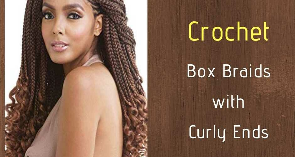 6 Crochet Box Braids With Curly Ends