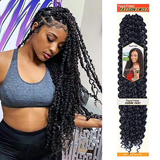 Passion Twist Hair 18 inch 6 packs