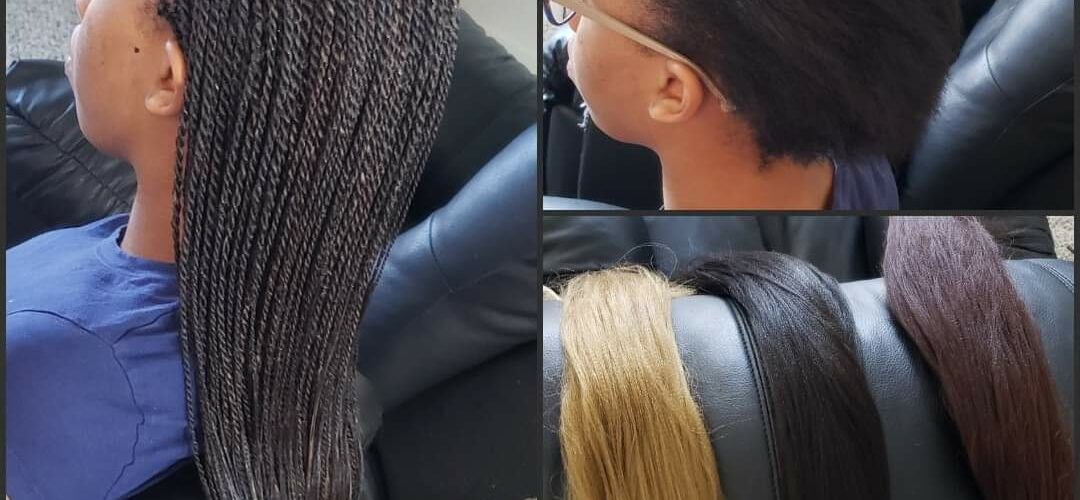 Braids with Color - Senegalese Twists (Color 2, 27 and 33)