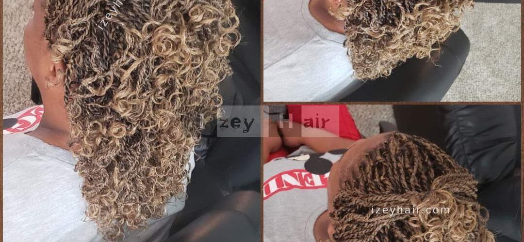 Short Senegelese Twists - Blond (Color 27)