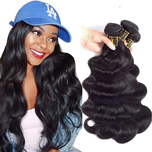 QTHair Brazilian Body Wave Hair Bundles