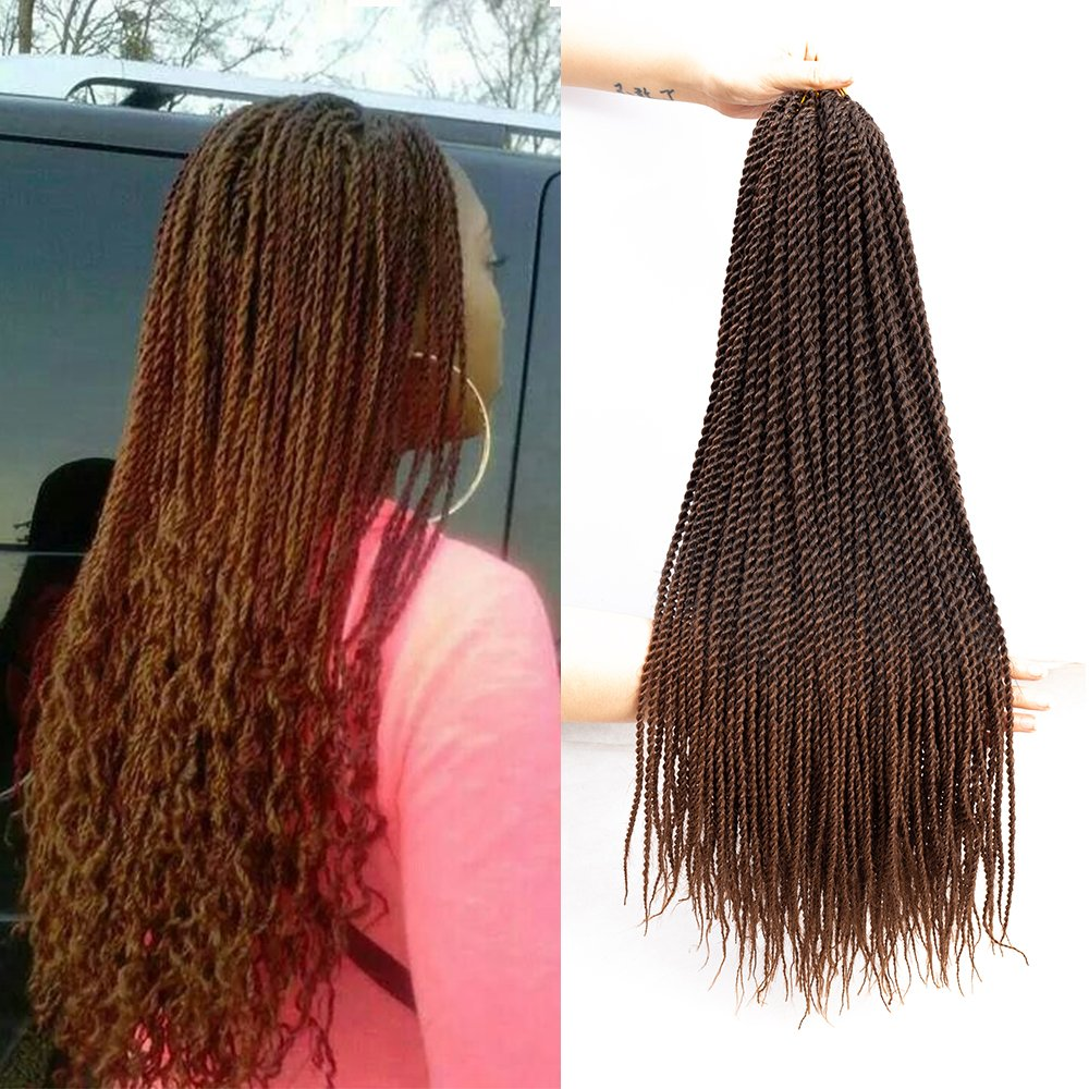 22 Inch, 6 Count, 1B 30, Ombre Senegalese Twist - Crochet Twists