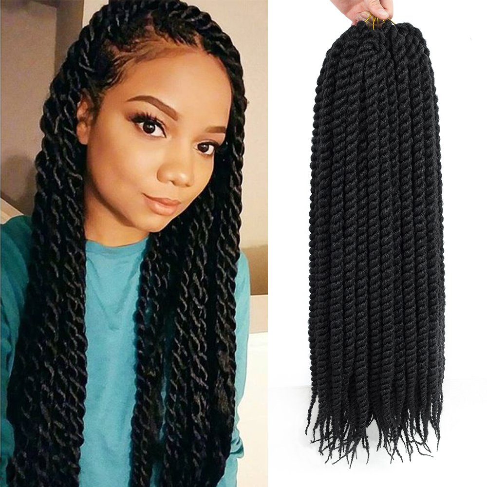 6 Packs, 22 inch, Havana Mambo Twist - Crochet Hair