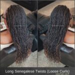 Long Senegelese Twists - Loose Curls
