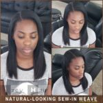 Natural-Looking Sew-in Weave Natural Black
