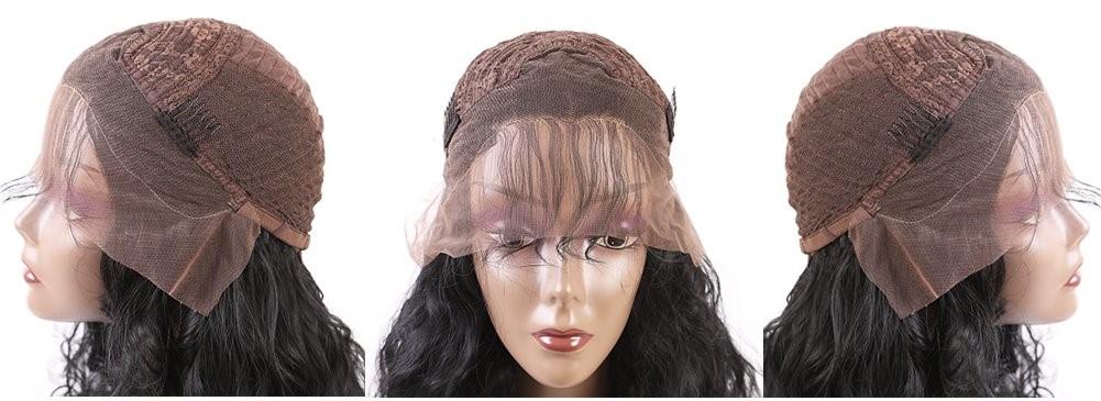 Short Black Lace Front Wig
