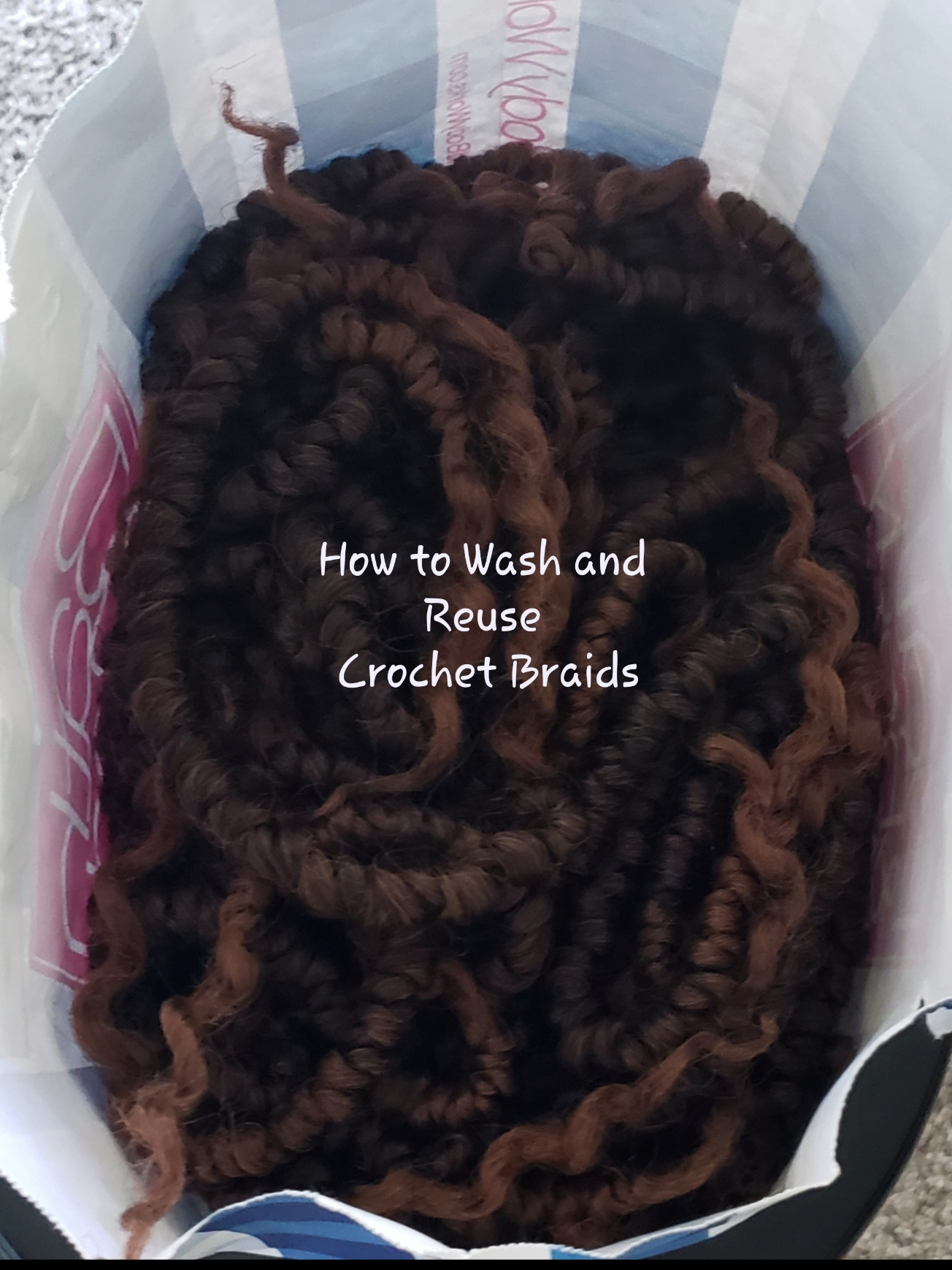 How to Wash and Reuse Crochet Braids