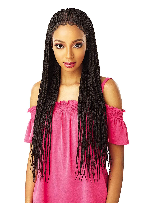 Lemonade Style Fulani Braids - Wig