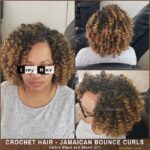 Jamaican Bounce Curls (Ombre Black and Blond 27)
