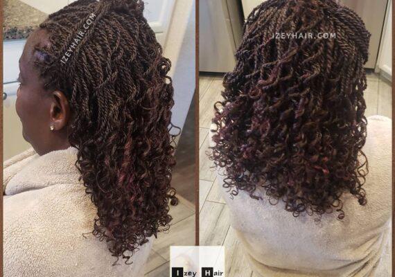 Auburn Senegalese Twist - color 33