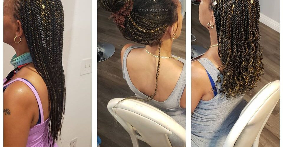 Retouching Braids For Aesthetics and Edge Protection