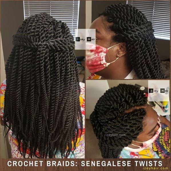 Crochet Braids - Senegalese Twist
