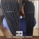 Long Straight Senegalese Twists