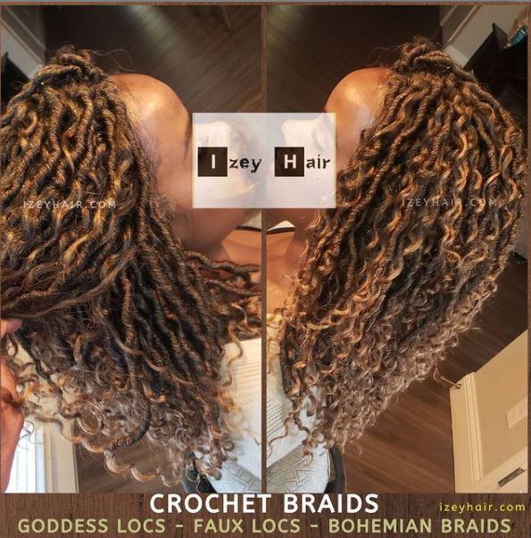 Crochet Braids: Bohemian Goddess Faux Locs